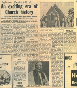 News clipping: An exciting era of Church history, An exciting era of Church history, June 24, 1972