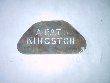 Sign - Stencil