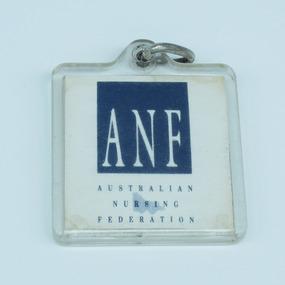 Australian Nursing Federation keyring, [1989-1995?]