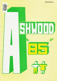 School Magazine- 1985, Ashwood High School Magazine- 1985, 1985