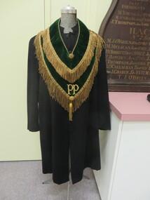 ceremonial collar, Hibernian Australasian Catholic Benefit Society (HACBS) ceremonial collar, Early 20th century