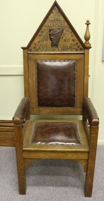 chair, Irish National Foresters president's chair