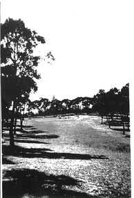Photograph, Two photocopied photos of Park Orchards golf course, Unknown date