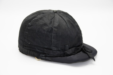 Headwear - Race drivers cap, Jim Brock's race driving cap