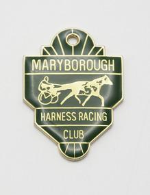 Badge - Membership, Maryborough Harness Racing Club, Season 1997/98