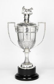 Memorabilia - Silver trophy, Adelaide Direct, 1917 New Zealand Cup
