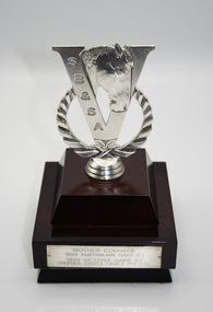 Memorabilia - Glass trophy, Mother Courage, 1999 SB&SA Award
