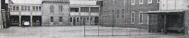 Photograph - Buildings, SPJC, Exterior, 1968 Empty Schoolyard