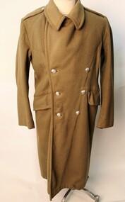 Uniform - trench coat, Heavy Army olive green trench coat