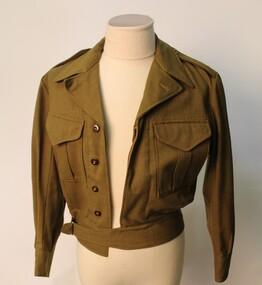 Uniform - Battledress jacket, Australian Army battledress jacket