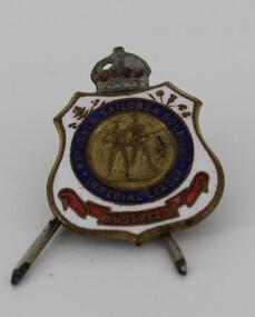 Badge - Imperial Australia League badge, Members badge for Imperial Australia League