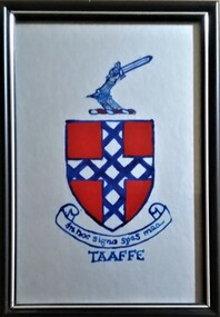 Painting, Taaffe Coat of Arms
