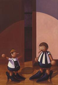 Painting - Adam Nudelman, Adam Nudelman, Towards Reconciliation, 2003