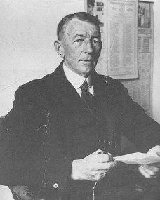 J Allan Anderson - one of the founders of Mentone Grammar School
