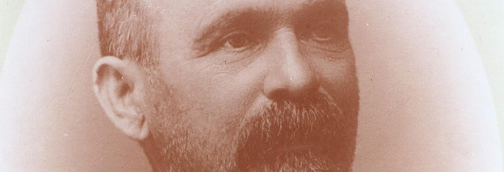 Close-up of man's face